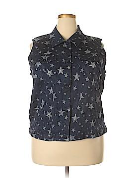 The Quacker Factory Vest Size 1X (Plus)