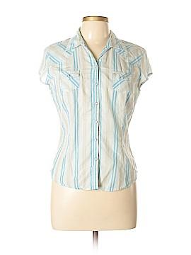Tilt Short Sleeve Button-Down Shirt Size L