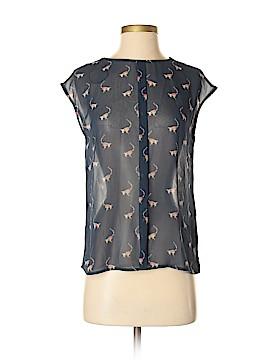 Zara TRF Short Sleeve Blouse Size S