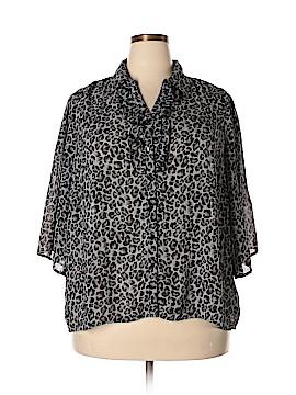 Fashion Bug 3/4 Sleeve Blouse Size 14 - 16W