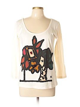 Sonia Rykiel 3/4 Sleeve T-Shirt Size XL