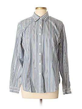 Van Heusen Long Sleeve Button-Down Shirt Size L