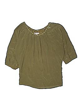 Love 21 3/4 Sleeve Silk Top Size M