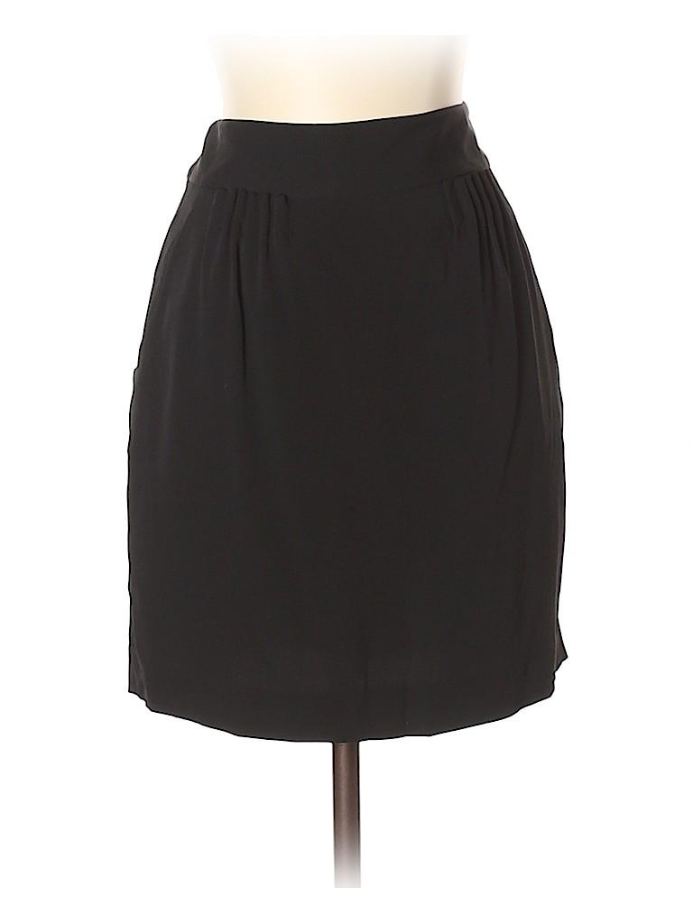 Theory Women Silk Skirt Size 4