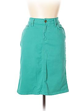 Garnet Hill Denim Skirt Size 10