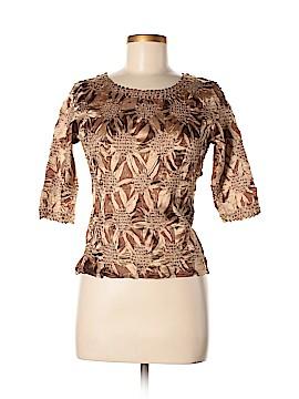 Camille La Vie 3/4 Sleeve Blouse Size M