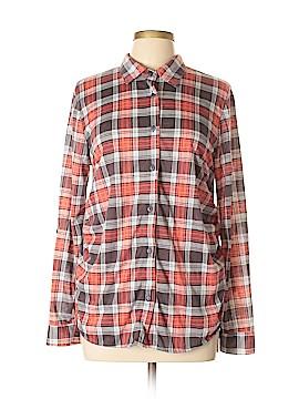 Eden & Olivia Long Sleeve Button-Down Shirt Size L