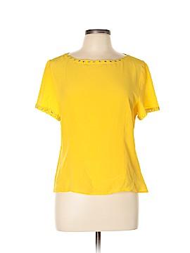 Spenser Jeremy Short Sleeve Silk Top Size L