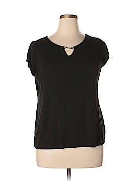 Sunny Leigh Short Sleeve Top Size XL