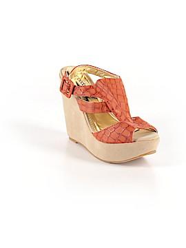 Shoedazzle Wedges Size 8