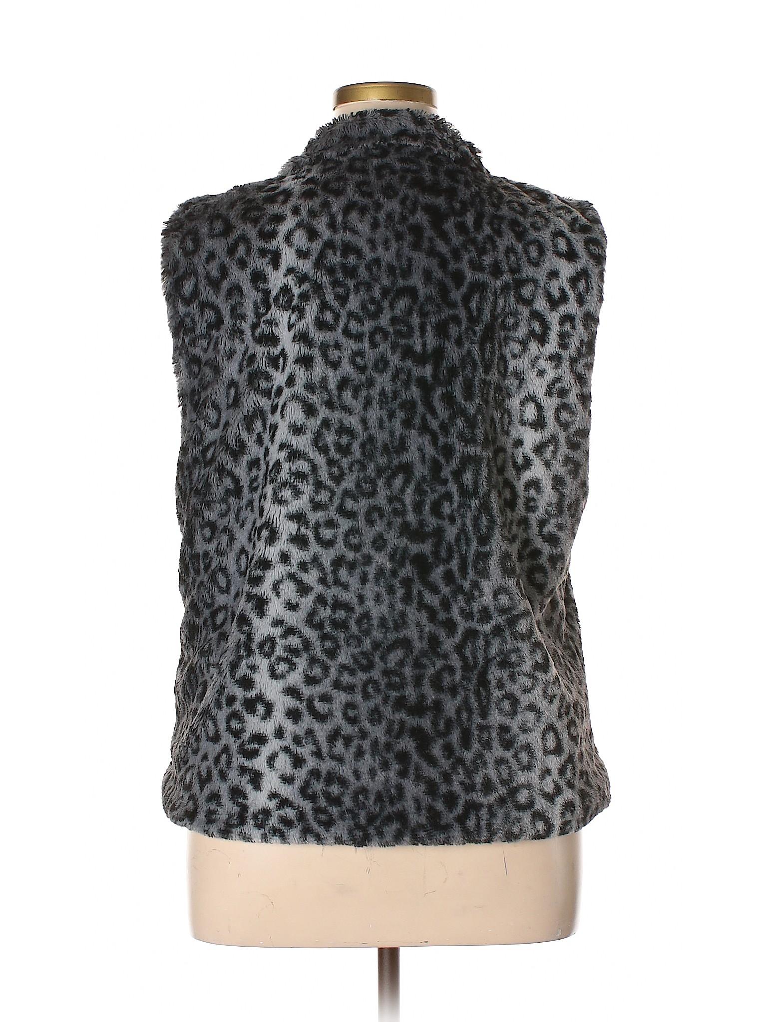 Faux Betsey Vest Fur leisure Boutique Johnson tvqwRgnxZ