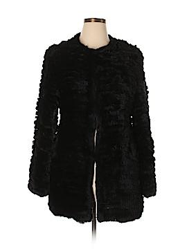 Scoop NYC Faux Fur Jacket Size L