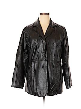 Venezia Leather Jacket Size 14 - 16 Plus (Plus)