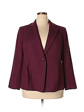 AK Anne Klein Wool Blazer Size 18w (Plus)