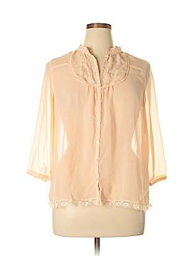 F&F Clothing 3/4 Sleeve Blouse Size 16