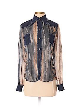 Margaret M Long Sleeve Button-Down Shirt Size 6