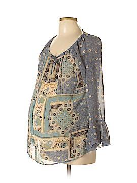 Maternity Long Sleeve Blouse Size L (Maternity)