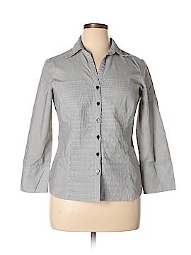 Zac & Rachel Long Sleeve Button-Down Shirt Size XL (Plus)