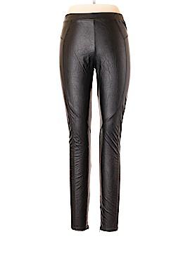 David Lerner Faux Leather Pants Size 10
