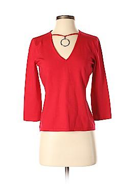Josephine Chaus Silk Pullover Sweater Size S