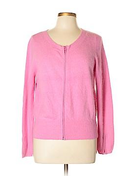 Pink Tartan Cardigan Size L