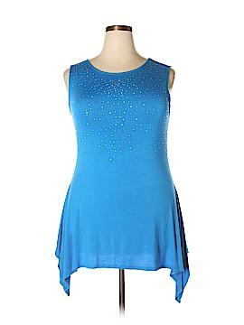 Belldini Sleeveless Top Size 1X (Plus)