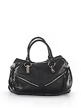 B Makowsky Leather Satchel One Size