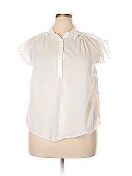 Gap Short Sleeve Button-Down Shirt Size S (Tall)