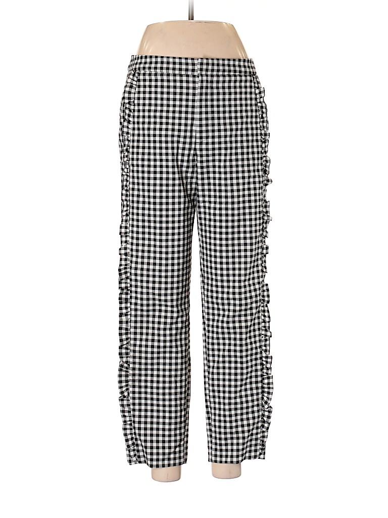 85ed1756 Zara Checkered Gingham Black Casual Pants Size M - 68% off   thredUP