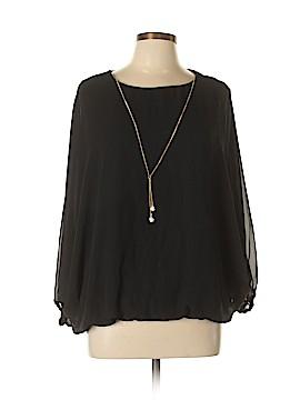 MSK Long Sleeve Blouse Size XL