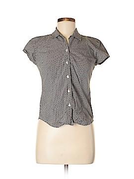 Ann Taylor LOFT Short Sleeve Button-Down Shirt Size 4