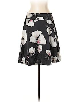 White House Black Market Silk Skirt Size 2