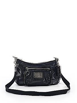 Coach Heart Poppy Leather Crossbody Bag One Size