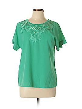 Verty Short Sleeve Blouse Size L