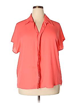 Target Short Sleeve Blouse Size XXL