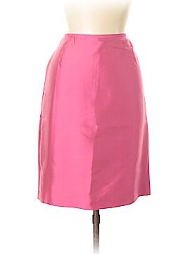 Tahari by ASL Silk Skirt Size 6 (Petite)