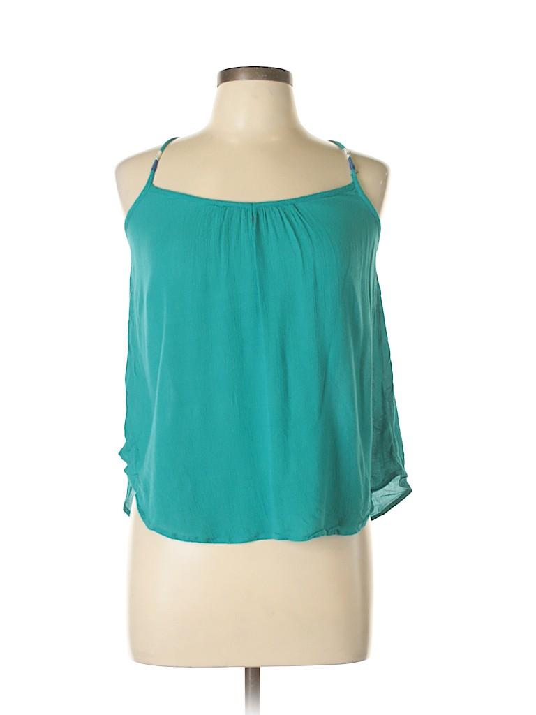 Roxy Women Sleeveless Blouse Size L