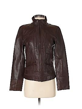 Caslon Leather Jacket Size XS