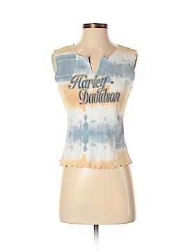 Harley Davidson Sleeveless T-Shirt Size S