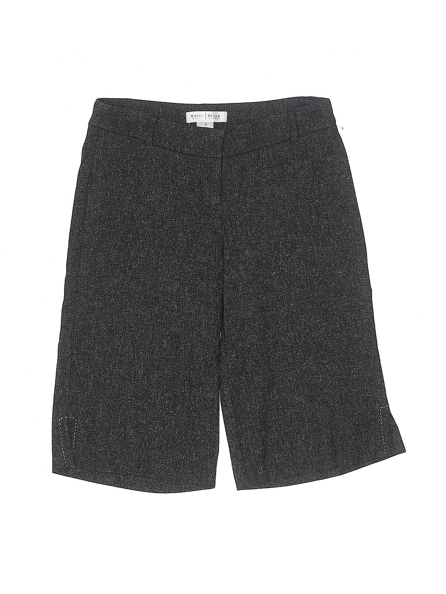 Black Boutique White Shorts Dressy Market House ZCYRHq