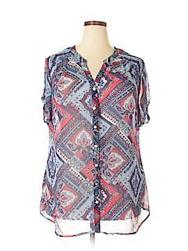 DC* Short Sleeve Blouse Size 2X (Plus)