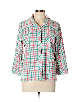 Koret Long Sleeve Button-Down Shirt Size L