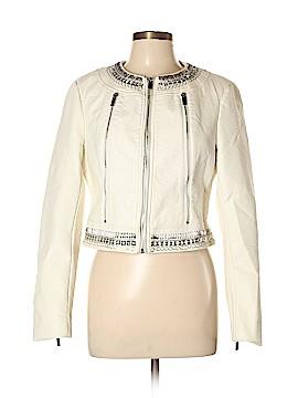 Bebe Faux Leather Jacket Size L