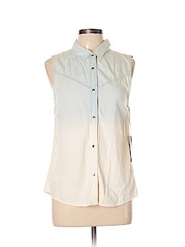 Vintage Havana Sleeveless Button-Down Shirt Size M