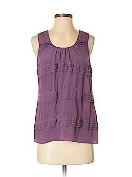 Halogen Sleeveless Silk Top Size XS