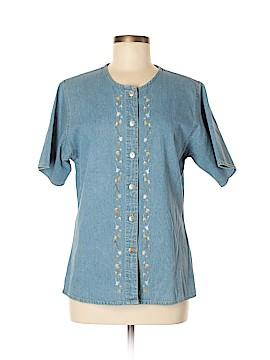 Woolrich Short Sleeve Button-Down Shirt Size M