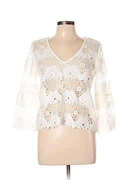 Lucy Paris 3/4 Sleeve Blouse Size M