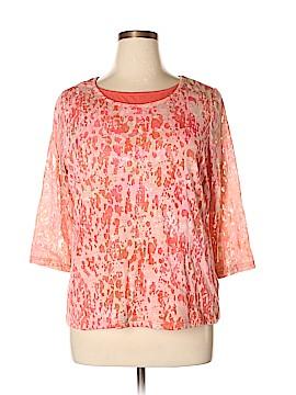 Breckenridge 3/4 Sleeve Top Size 1X (Plus)