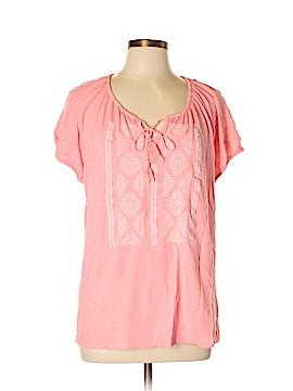 SONOMA life + style Short Sleeve Blouse Size XL
