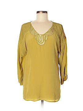 Rainn 3/4 Sleeve Silk Top Size L